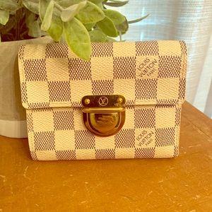 Louis Vuitton Damier Azure Wallet